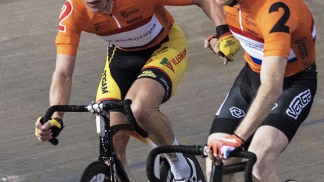 Los belgas De Ketele/Pauw, campeones en la final de Madison en Palma