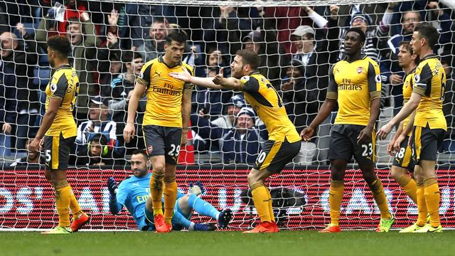 Rudderless Arsenal slump to defeat at West Brom