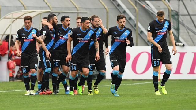Spal sempre più prima, il Frosinone torna a vincere, Ganz salva il Verona