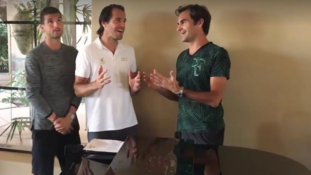 Le boys band de Federer est de retour !