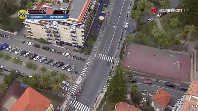 Безумная развязка гонки Милан – Сан-Ремо, в которой Квятковский очень сильно огорчил Сагана