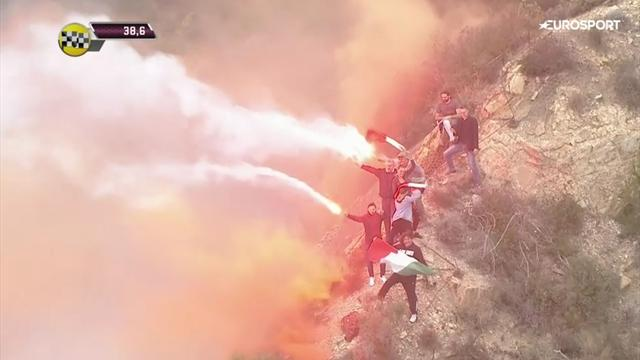 Tifosi on fire: Ein Hauch San Siro bei Mailand - Sanremo