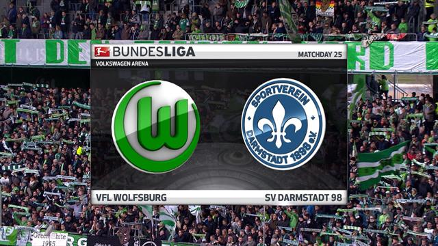 Bundesliga: Wolfsburg - Darmstadt (Özet)