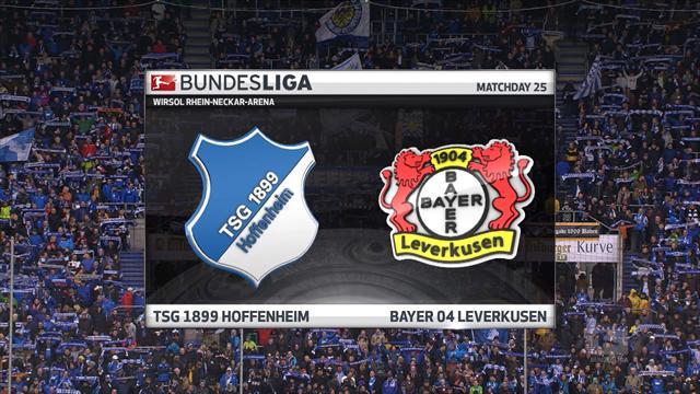 Bundesliga: Hoffenheim - Bayer Leverkusen (Özet)
