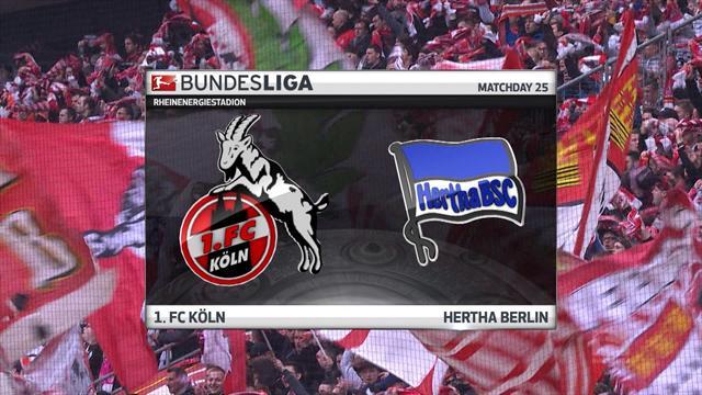 Bundesliga: Köln - Hertha Berlin (Özet)