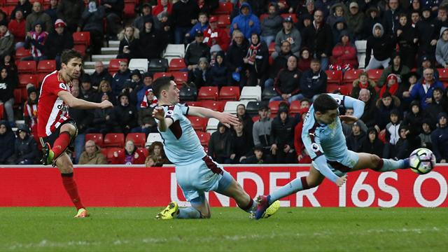 Sunderland in deep trouble after home draw with Burnley