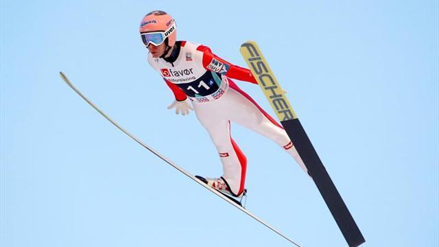 Stefan Kraft bate el récord mundial de vuelo con 253,5 metros en Vikersund