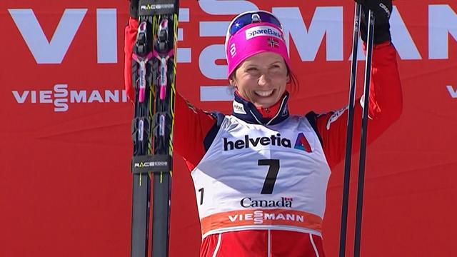 Marit Bjoergen vince la mass start 10 km a tecnica classica di Quebec City