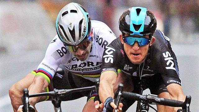 Milán-San Remo: El brutal ataque de Sagan que pasará a la historia del ciclismo