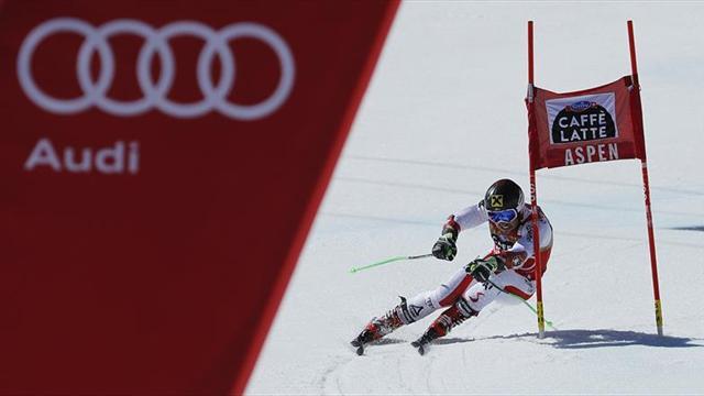 Hirscher sella en el gigante de Aspen su victoria número 45 en la Copa del Mundo