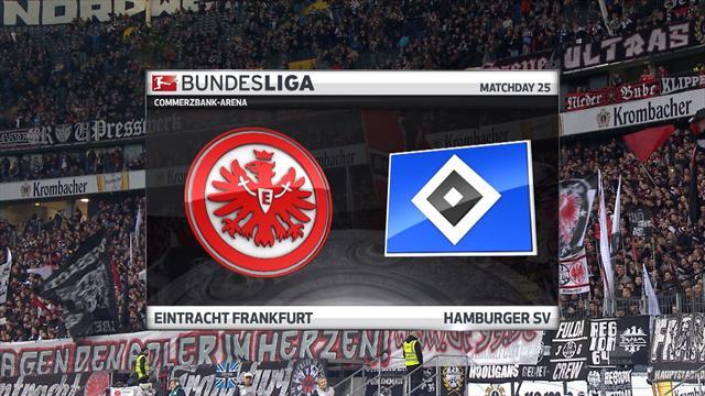 Bundesliga: Frankfurt - Hamburg (Özet)