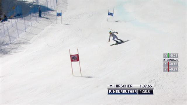 Hirscher, Shiffrin claim crystal globes in Aspen giant slalom