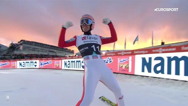 Stefan Kraft sets world record with huge 253.5m leap