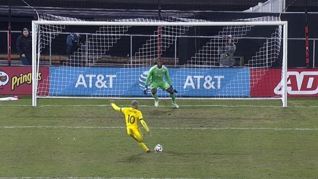 MLS, DC United-Columbus Crew: Victoria de penalti (0-2)