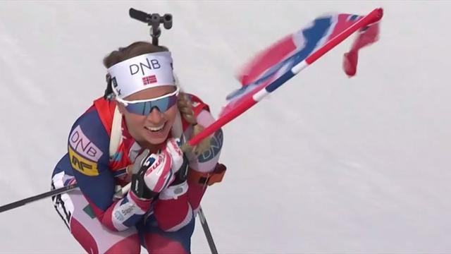 Zieleinlauf: Eckhoff siegt mit Fahne und Lächeln