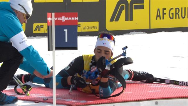 Fourcade forgets the bullets for his rifle in Sunday's biathlon