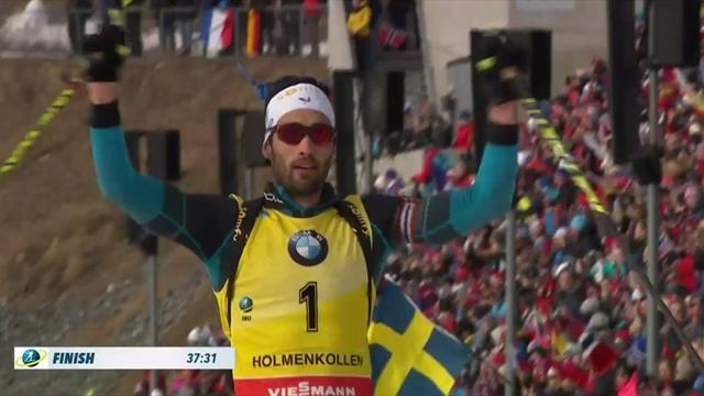 Fourcade finishes with a flurry