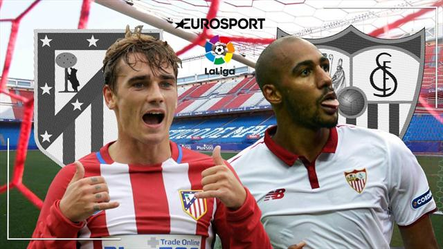 En directo: Atlético-Sevilla: Simeone apuesta por Gameiro en busca de la tercera plaza