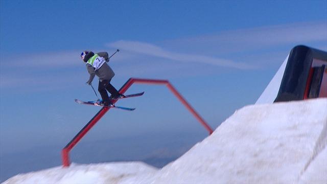 Tess Ledeux, 15, breaks record with slopestyle triumph