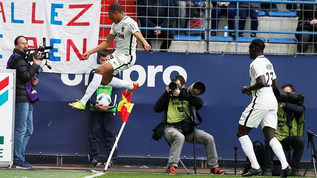 Дубль Мбаппе помог «Монако» разгромить «Кан»