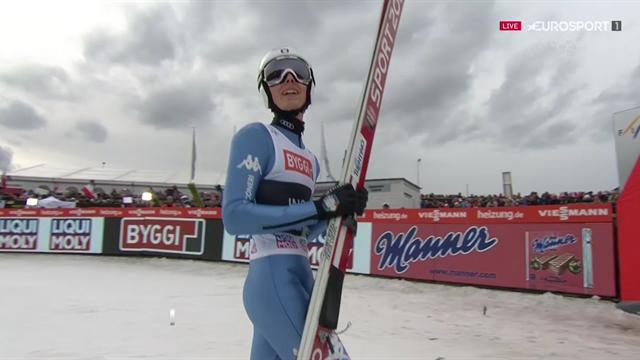 Bravissimo Alex Insam! Con i 217,5 metri di Vikersund realizza il nuovo record italiano nel salto