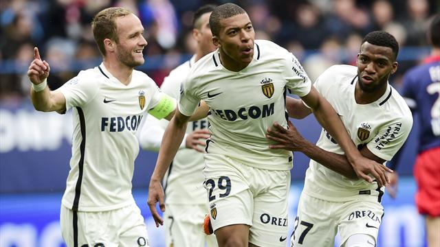 Mbappé et Monaco gardent leur rythme infernal