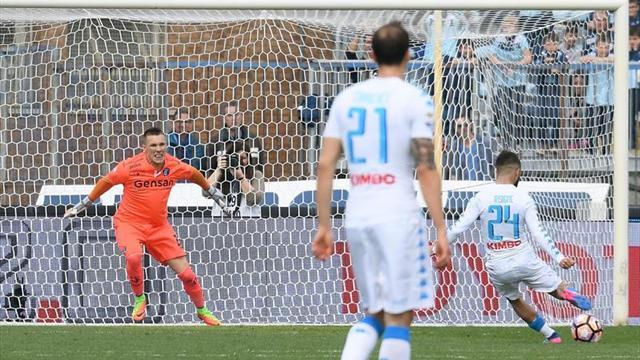 El Nápoles no falla en Empoli y obliga al Roma a ganar para seguir segundo