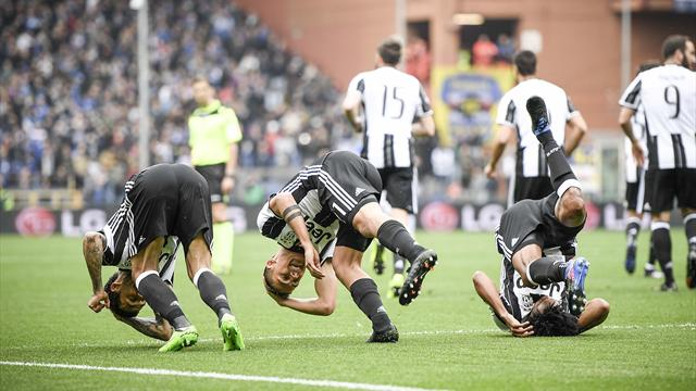 Alla Juventus basta Cuadrado. Kalinic salva la Viola, Lazio fermata a Cagliari