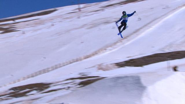 Medal for British slopestyle ace Isabel Atkin