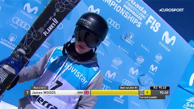 James Woods takes slopestyle bronze in World Champs