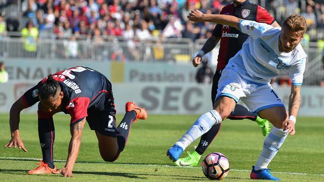 Primo caldo, primi sbadigli: è domenica in bianco per Cagliari e Lazio