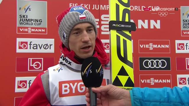 Stoch slices Kraft's lead with Vikersund victory