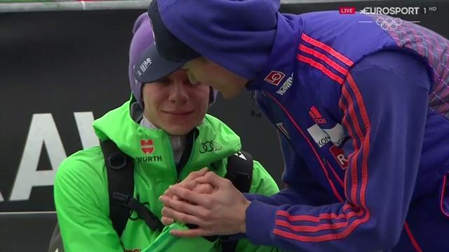 So bitter: Wellinger in Tränen aufgelöst