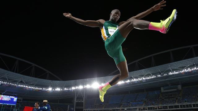 Luvo Manyonga: De adicto a lograr la mejor marca en longitud de los últimos ocho años