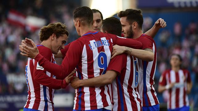 «Атлетико» нанес поражение «Севилье»