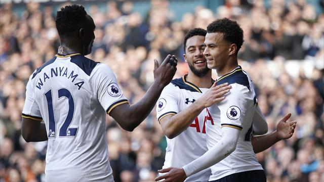 Même sans Kane, Tottenham enchaîne