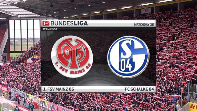 Bundesliga: Mainz - Schalke 04 (Özet)
