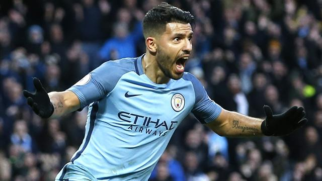 Aguero earns City point in frantic encounter with Liverpool