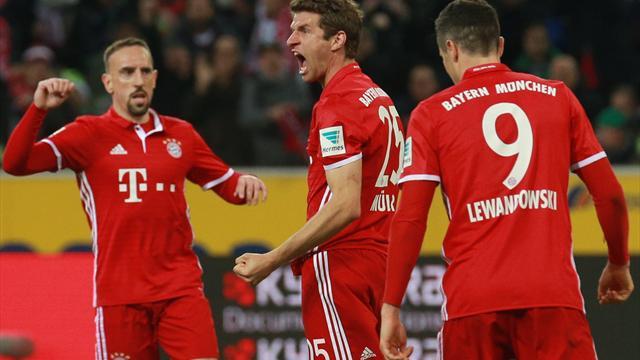 Geniestreich von Müller und Thiago: Bayern setzt sich weiter ab