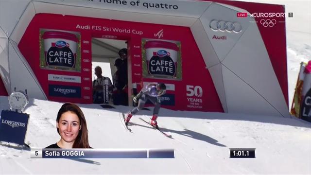 Sofia Goggia seconda nel gigante di Aspen: la sua seconda manche