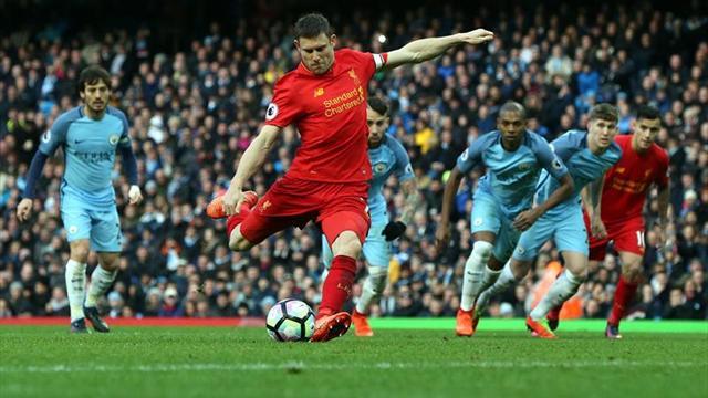 Manchester City y Liverpool empatan y se alejan de la segunda plaza