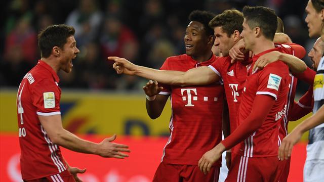 Bundesliga'da 25. hafta maçlarının özetleri