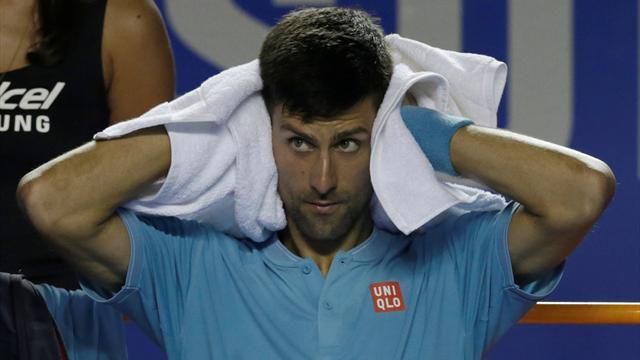 Murray'den sonra Djokovic de Miami'de yok