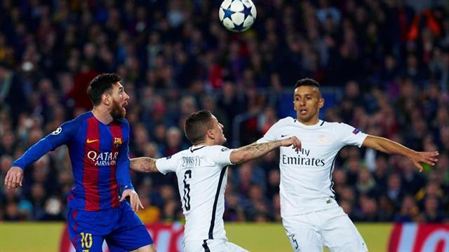 El Barça sale con el once de la remontada ante el PSG