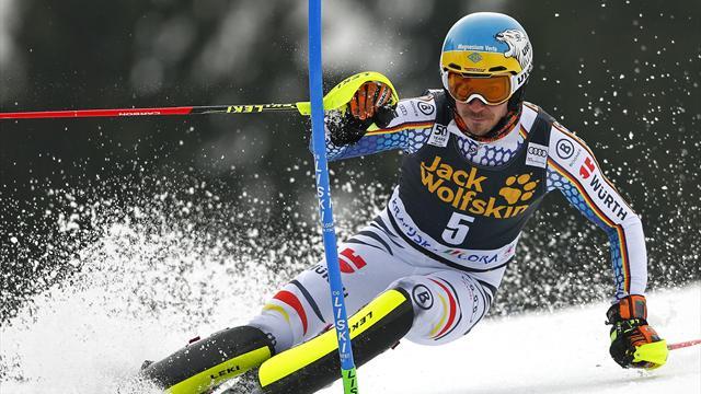 Weltcup-Finale: Neureuther auch im Slalom Zweiter