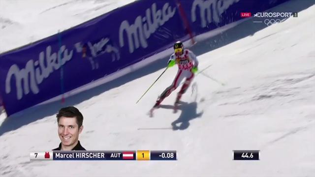 Marcel Hirscher chiude 4° nello speciale di Aspen: la sua seconda manche