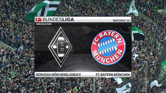 Bundesliga: Borussia Mönchengladbach - Bayern Münih (Özet)