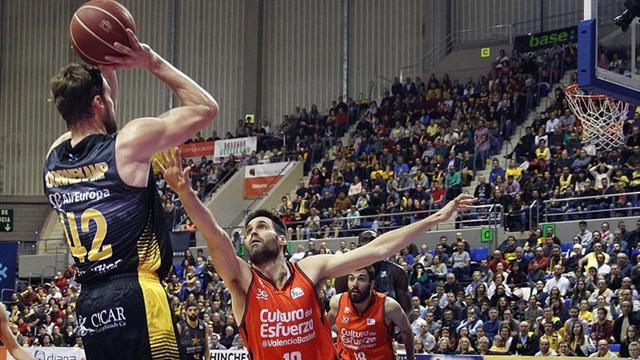 62-65. El Iberostar Tenerife no pudo con un Valencia más acertado