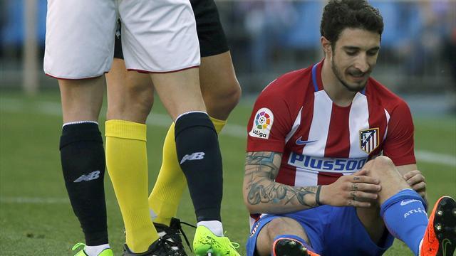El Atlético confirma la preocupante lesión de rodilla con ligamento afectado de Sime Vrsaljko
