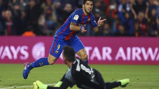 Barcelona y Valencia empatan (2-2) tras un primer tiempo loco